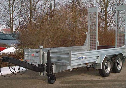 Remorque transport machines de SCHMID